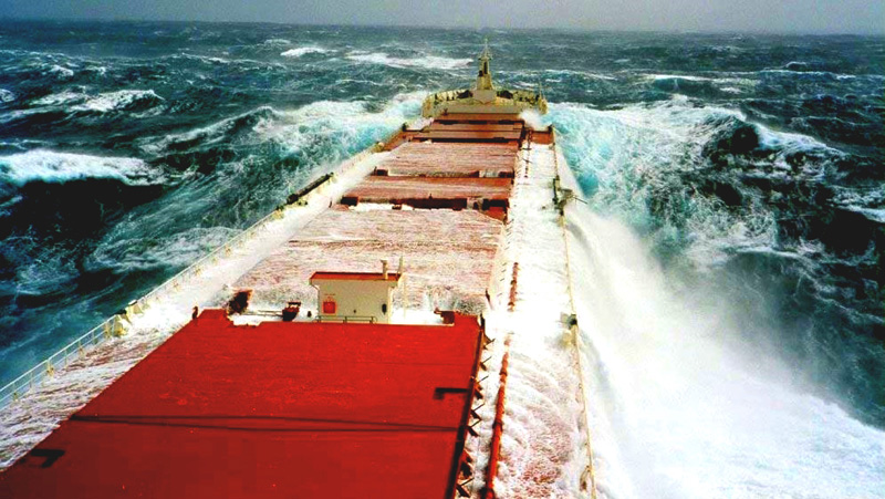 freighter in peril